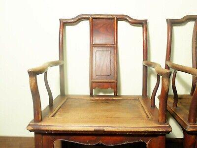 Antique Chinese Ming Arm Chairs (5730) (Pair), Circa 1800-1849 2