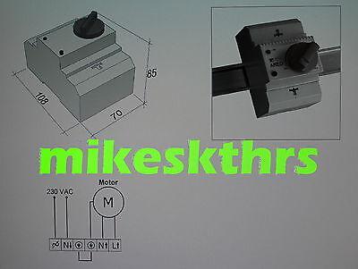 drehzahlregler l fterregler 230v 3a stufenlos ventilatorregler eur 72 00. Black Bedroom Furniture Sets. Home Design Ideas