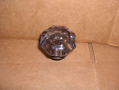 Door Knob (single) 8 point brass & amethyst sun light purple crystal glass used 3