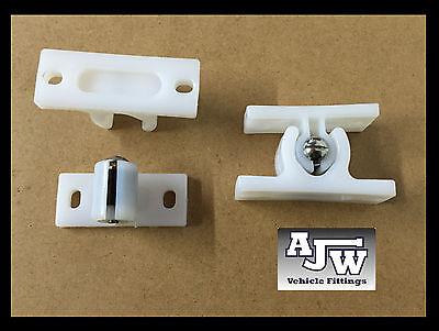 4 X White Nylon Door Retainer Hold Back Horsebox Trailer Motorhome Vans Trucks