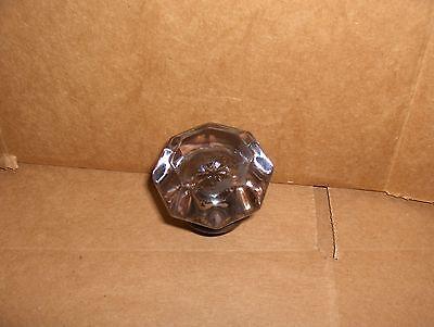Door Knob (single) 8 point brass & amethyst sun light purple crystal glass used 2