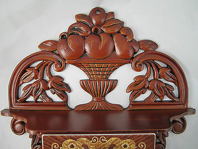 CONSOLE with Jewelry box Schmuckbox 45x32x8 antique Baroque Repro with 4 drawers 4