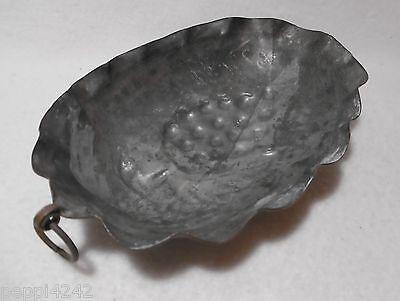 ++  ovale Motiv - Kupfer - Backform / Kupferform - Obst ++ Hhj 5