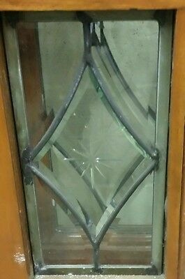 Set Of Antique Bevel Glass Bi- Fold Doors 9