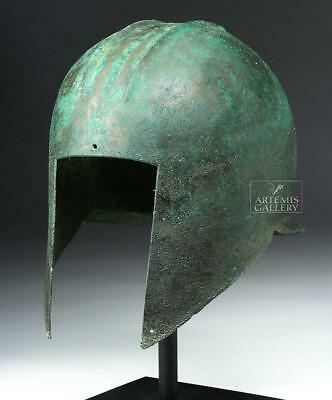 Greek Illyrian Bronze Helmet - Xrayed Lot 16