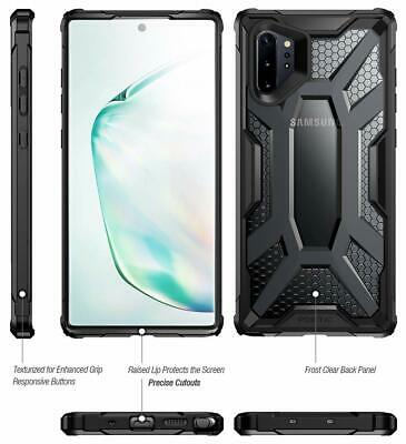 For Galaxy Note 10 Plus Case Slim Fit Durable Shockproof Protective Cover Black 5