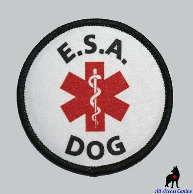 ALL ACCESS CANINE™ Support Animal ESA Dog - Service Dog - Therapy Dog Patches 3