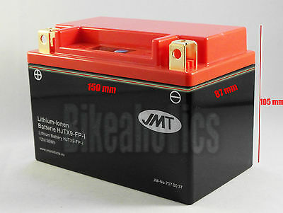 Best selling Lithium-ion motorcycle battery JMT YTX20CH-BS 75/% lighter