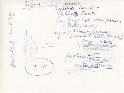 ©G.B.Poletto , Martine Carol,Gabriele Ferzetti 1956 #006 2
