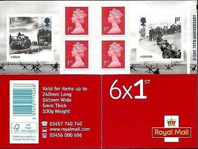 Gb 2019 Mint D-Day 75Th Presentation Pack 572 Stamps Sheet Retail Booklet Pm67 5