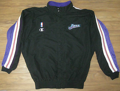 ... Nba Champion Utah Jazz Game Used Worn Jacket 52 Jersey Uniform Greg  Ostertag  39 d6c647163