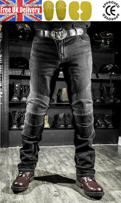 Motrox Motorbike Motorcycle Jeans Cargo Style Riding Trousers Pants