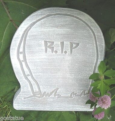 Tombstone plastic mold memorial mold make your own