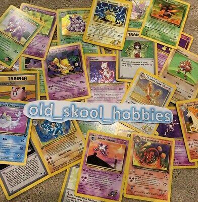 ORIGINAL Pokemon 11 Card Lot ~ 100% Vintage WOTC! 1st Edition + RARE Included! 6