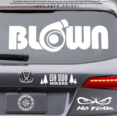 JDM Stay Humble Drift Text Stance Turbo illest Car Jeep Truck Sticker Decal