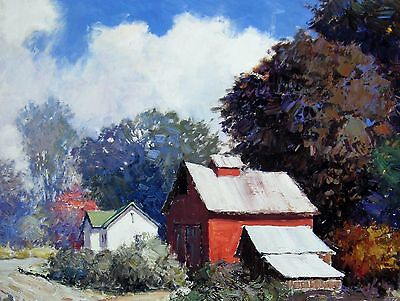 """poster available signed//unsigned /""""The Gate/"""" Kent Wallis 16/""""hx20/""""w image"""
