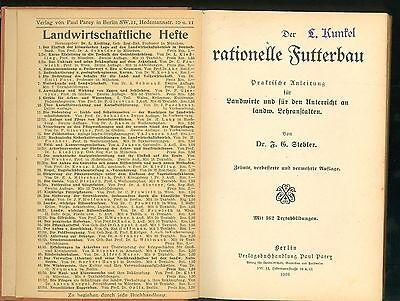 Rationeller Futterbau 1926 Praktische Anleitung Landwirte Lehranstalten 2
