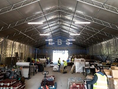 Steel Framed Storage Building Industrial Portable Temporary Commercial Warehouse 6