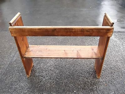 Small Reclaimed Pine Church Bench / Pew / Settle #1     Delivery Available 4