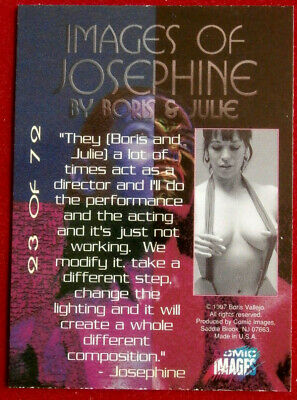 IMAGES OF JOSEPHINE - Individual Card #23 - Comic Images - Fantasy Art - 1997 2