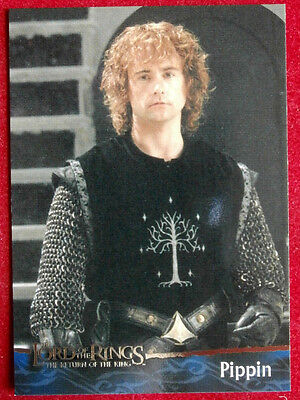 LORD OF THE RINGS - Return Of The King - COMPLETE BASE SET (90 cards) Topps 2003