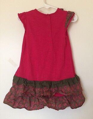 5y 4y Luxury Cute Deux par Deux Éclat De Petits Pois Babycord girls Dress 2y