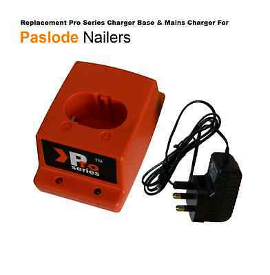 2 x Battery+ Mains Charger+Charger base -  Fully compatible with Paslode IM65 3