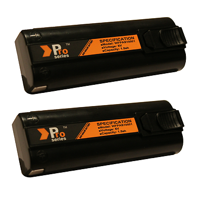 2 x Battery+ Mains Charger+Charger base -  Fully compatible with Paslode IM65 2