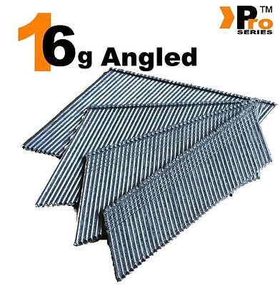 Paslode Hitachi Bostitch Angled 16G Second Fix Nails  (Angled 16g) 00 2