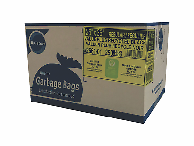Garbage Bags – Black - Trash Bags & Trash Liners - Free Shipping 3