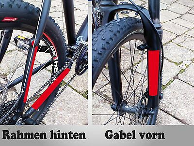 Fahrrad Bike Steinschlagschutz Lackschutz Folie Set transparent 23 Teile