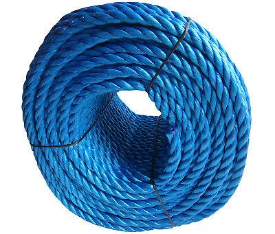 Blue Poly Rope Coils, Polyrope, Polypropylene, Nylon, Polyprop, Tarpaulins 5