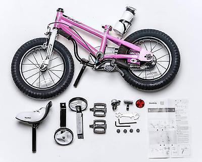 ROYALBABY BMX KIDS Bike Push Bicycle 14 14'' inch Pink Bottle Seat ... royalbaby bike 14