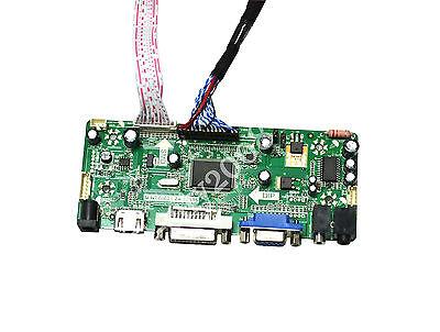 HDMI+DVI+VGA+Audio LCD Controller Board Driver Kit for B154EW04 v.2 1020X800