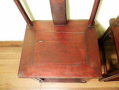 Antique Chinese High Back Chairs (Pair) (5767), Circa 1800-1849 4