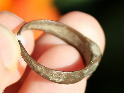 Bronze medieval ring, from Pakistan, size 9 3 • CAD $124.74