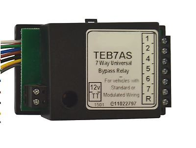Towbar Electrics 7 Way Bypass Relay for Canbus Multiplex Wiring Smart TR186 5