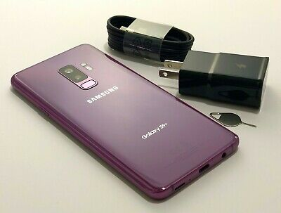 Samsung Galaxy S9+ Plus G965U 64GB T-Mobile Sprint ATT Verizon Carrier Unlocked 6