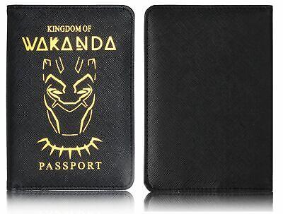 The Avenger Wakanda Hydra Hogwarts Passport Cover RFID Blocking Credit Card Case 7