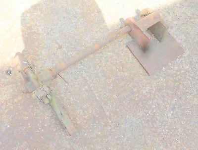 alte Stange Verbindungsstück Eisen Bauer antik Gerät Ersatzteil Griff Gegenstück 4