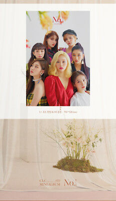CLC [NO.1] 8th Mini Album CD+Photo Book+Mini Poster(On Pack)+Photo Card SEALED 4