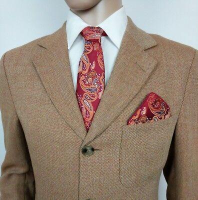 New Luxury Ermenegildo Zegna Mens Sport Coat Shooting Blazer UK 38R RRP £1685 3