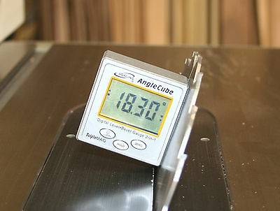 iGaging Angle Cube Digital Protractor Gauge Magnetic Angle & Level Sensor Bevel 11