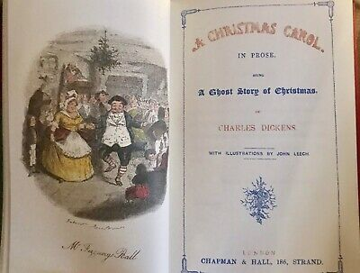 A Christmas Carol by Charles Dickens Deluxe Hardcover Collectible Slipcase 3