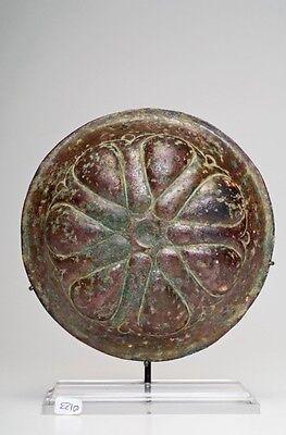 Ca.  6th - 4th  Achaemenid Bronze Mesomphalos 3