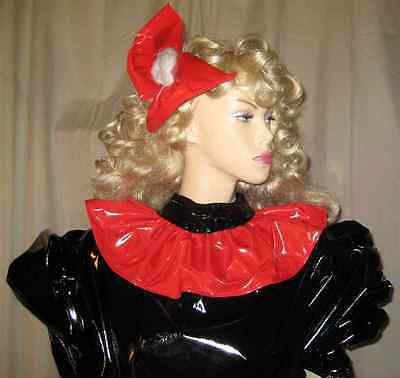 Lackkleid,Godetkleid,lang,Crossdresser,Fetisch, Diva,Maiddress,Godetdress Vinyl 12