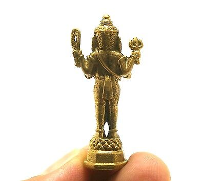 Hindu Om Mini Amulet Ganesh Ganesha Ganapati Vinayaka God Deity Obstacle Success