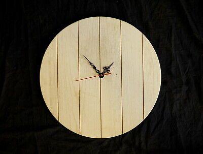 Orologio cuore in legno massello 2