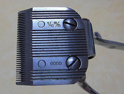 Vintage Horstator Haar-/Bartschneidemaschine Modell 7-0000 4