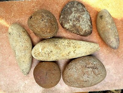 3 Kg Flint Round Stones Natural Chert for Decoration Knapping from the Holy Land